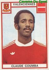333 CLAUDE COUMBA US.VALENCIENNES VIGNETTE STICKER FOOTBALL 76 PANINI