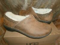 Ugg Australia BETTEY Womens Loafer Toast Brown Nu-Buck Leather US 6 New OldStock