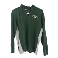 Abercrombie & Fitch Womens XL Extra Large Green Sweater Pullover Long Sleeve