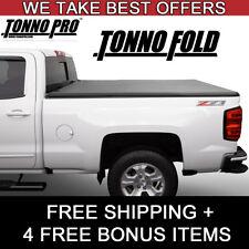 Fits a 2017-20 Ridgeline Tonno Pro Soft Tri Folding Tonneau Bed Cover 42-601