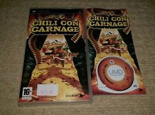 CHILI CON CARNAGE  - Rare Sony PSP Game