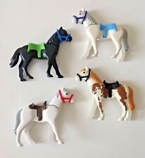 Playmobil Horses for Knights/ Western/ Farm/ Stable x4