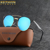 New Vintage UV400 Outdoor Shades Womens Mens Retro Round Polarized Sunglasses