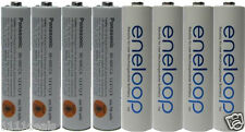 Panasonic Eneloop 8 Pack AAA NiMH Rechargeable Batteries