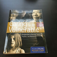 Caring for the Vulnerable by Mary de Chesnay and Barbara A. Anderson (2011,...
