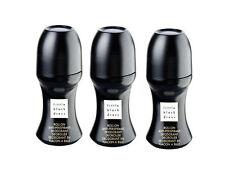 3 X pequeño vestido negro Avon Roll-on Desodorante Antitranspirante 50ML cada uno