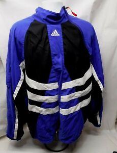 VTG Adidas Predator Jacket Large Pullover Partial Zip Mesh accelerator rare