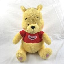 Disney Tokyo Resort Winnie The Pooh SEGA Heartful Plush Japan RARE 15""