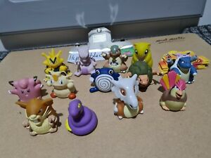13 Vintage Collectible Retro Nintendo Pokemon Hasbro Roller Ball Sliders Figures