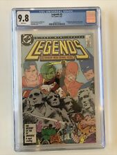 Legends #3 CGC 9.8 - first appearance of THE SUICIDE SQUAD 1987 Harley Quinn