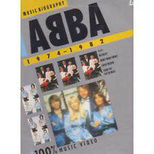 Abba 	Music Biography Laser disc NTSC Japon	LD	Polydor	 - ULTRA RARE