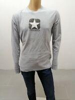 Maglia CONVERSE Uomo Taglia Size XXL Sweater Man Pull Homme Maglia Cotone P 7450