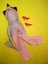 Vtg Barbie Superstar 70s BEST BUY Doll Clothes Lot STRIPED JUMPSUIT 1977 9958