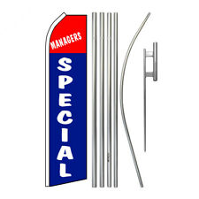 New listing Manager's Special Super Flag Kit Swooper Feather - Special - Today's Special
