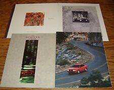 1994 1995 1996 1997 Oldsmobile Achieva Sales Brochure Lot of 4 94 95 96 97