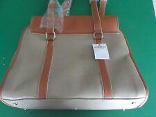 Tommy Hilfiger Large Handbag Clutch Dark Tan & Brown   (MS)