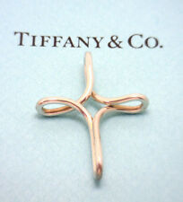 Elsa Peretti for TIFFANY & CO. Sterling Infinity Cross, Estate, Med Size w/chain