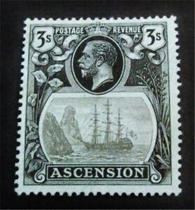 nystamps British Ascension Stamp # 21 Mint OG H $105 J15y1926