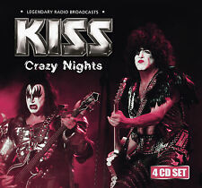 KISS New Sealed 2017 LIVE 1980s & 1990s CONCERTS 4 CD BOXSET
