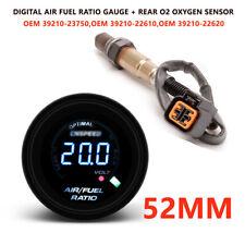 52MM Car SUV Truck Digital Air Fuel Ratio Gauge Rear Narrowband O2 Oxygen Sensor