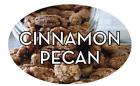 "Cinnamon Pecan Labels 500 per Roll Food Store Stickers 1.25"" x 2"