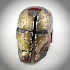 Hot Toys Iron Man 3 WORKSHOP ACCESSORIES Set 1/6 BATTLE DAMAGED MARK VII HELMET
