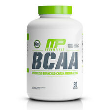 MusclePharm MP Essentials BCAA optimized branched-Chain Amino Acids 240 Capsules