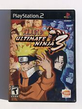 Naruto Ultimate Ninja 3 - Complete PlayStation 2 PS2 Game