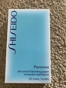Shiseido Pureness Oil Control Blotting Paper (100 Sheets) See Details