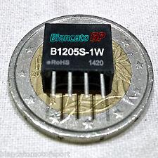 DC-DC CONVERTER ISOLATO B1205S-1W ingresso 12V DC uscita 5V DC non stabilizzato
