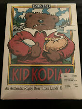 Nib Kid Kodiak, An Authentic Rugby Bear from Lands' End & Gund (Sealed)
