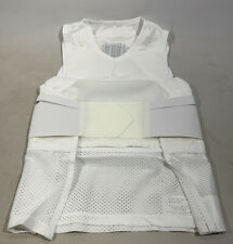 Genuine Ex Police Aegis Body Armour Cover White Security SIA Theatre Safety NEW