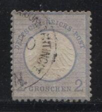 1872 Deutsche Post in der TÜRKEI 2 Groschen Vorläufer - CONSTANTINOPEL-