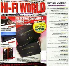 HI-FI WORLD ELECTROCOMPANIET NEMO MONO BLOC BEST ?  QUAD ELS63 NAIM NAIT XS