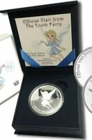 1 - 1 oz. 999 Fine Silver Round - A Visit From the Tooth Fairy with Gift Box