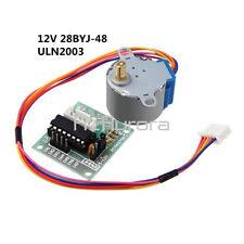 New 12V Stepper Motor 28BYJ-48+Drive Test Module Board ULN2003 5 Line 4 Phase