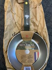 "De Buyer 5610.20 Mineral B Round Iron Fry Pan Bees Wax Finish 8"" Brand New"
