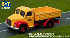 B-T Models DA90 Dodge 'PN' Tipper - Hoveringham Gravel 1/76th/00 Gauge -T48 Post