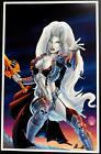 LADY DEATH 2013 ART PRINT Cover O Signed BRIAN PULIDO / Coffin Comics