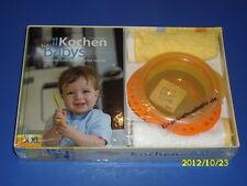 Kochen für Babys - Kochbuch, NUK Esslern-Schale und 2 Lätzchen
