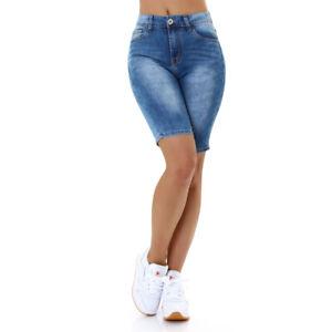 Jeans Shorts Bermudas Capri Ladies Shorts Jeansshorts