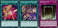 ETERNAL Soul + Dark Burning Magic + Dark Burning Attack LDK2 3-Secret Promos set