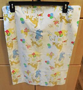 Vintage Winnie the Pooh Pillowcase Sears Children's Nursery EUC