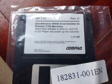 Compaq Boot Diskette For Presario 7100