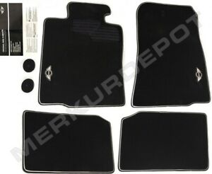★ NEW Genuine OEM Mini Cooper Paceman Black Factory Floor Mat Set 4 pc R60 R61 ★