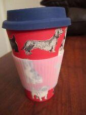 Dachshund Dog Bio-Degradable Eco-Friendly Bamboo Sippy Reusable Mug CUP NEW