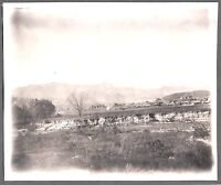 VINTAGE 1890S SHILLABER COYOTE VIEW OF TOWN SANBORNTON NEW HAMPSHIRE OLD PHOTO