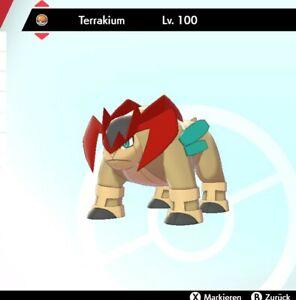 Shiny Terrakium Pokemon Schwert Schild LVL 100 *** 6DV! *** + Meisterball! ***