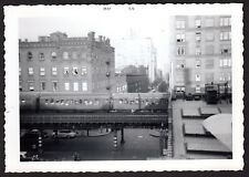 RARE PHOTOS OF LAST RUN OF NYC ELEVATED 3RD AVENUE EL~ONE OF A KIND~MAY 12, 1955
