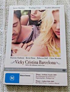 VICKY CRISTINA BARCELONA – DVD, BOX SET, R-4, LIKE NEW, FREE POST IN AUSTRALIA